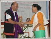 Felicitation to General Secretray during ABCC Women Conference