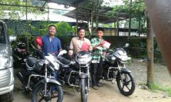 Motorbike Distribution through CBCNEI to (3) three Association