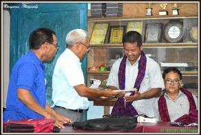 Felicitation by TBCA (Tangsa)