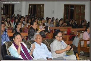 Hon'ble Parl. Secy. LM&CA. Govt. of AP during ABCC Women Conference
