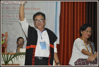 Felicitation to President during ABCC Women Conference
